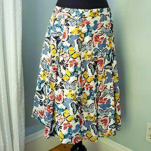 Vintage LL Bean Butterfly Skirt
